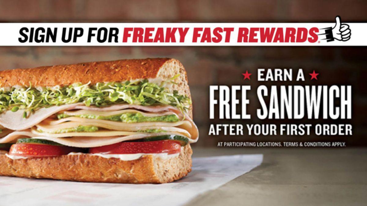 Jimmy John's Freaky Fast Rewards Program