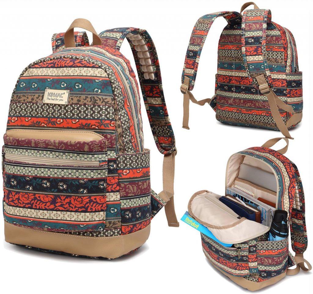 Kinmac New Bohemian Water Resistant Laptop Backpack