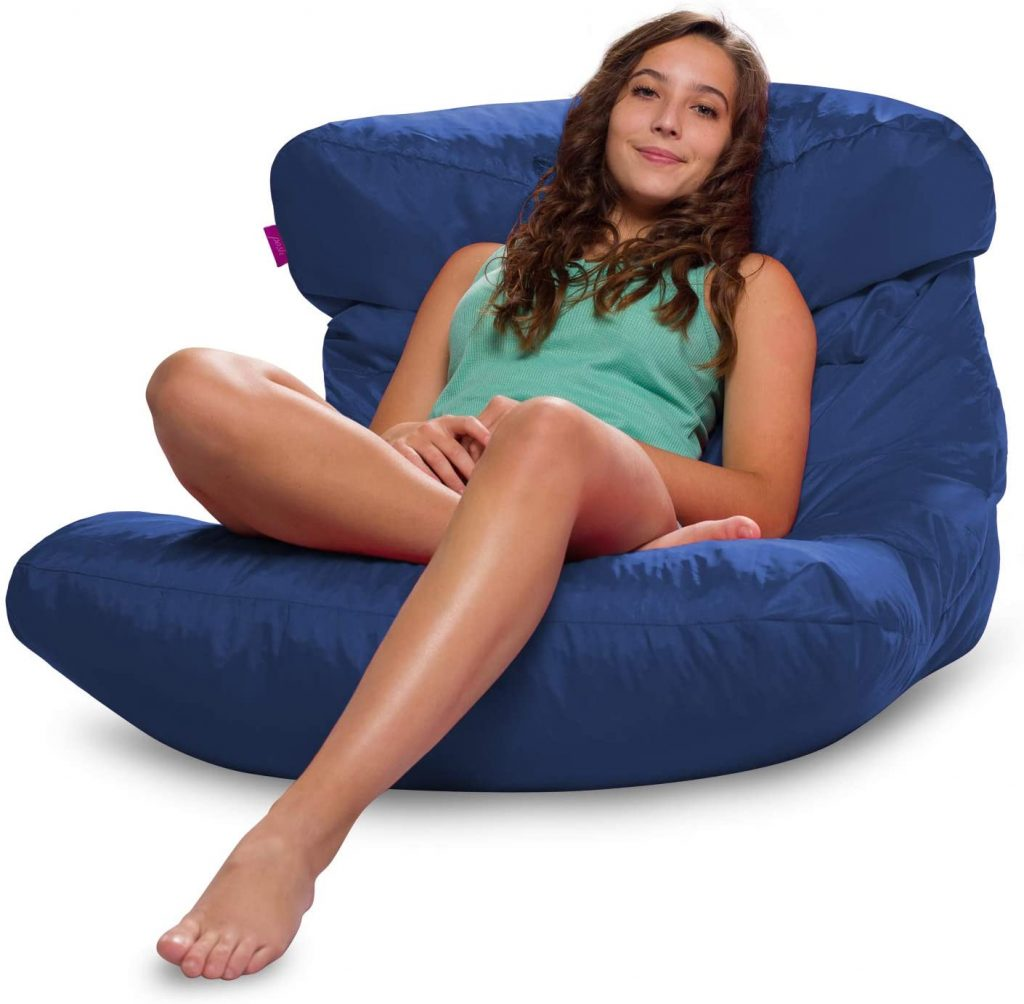 Large Bean Bag Chair for Dorm Rooms