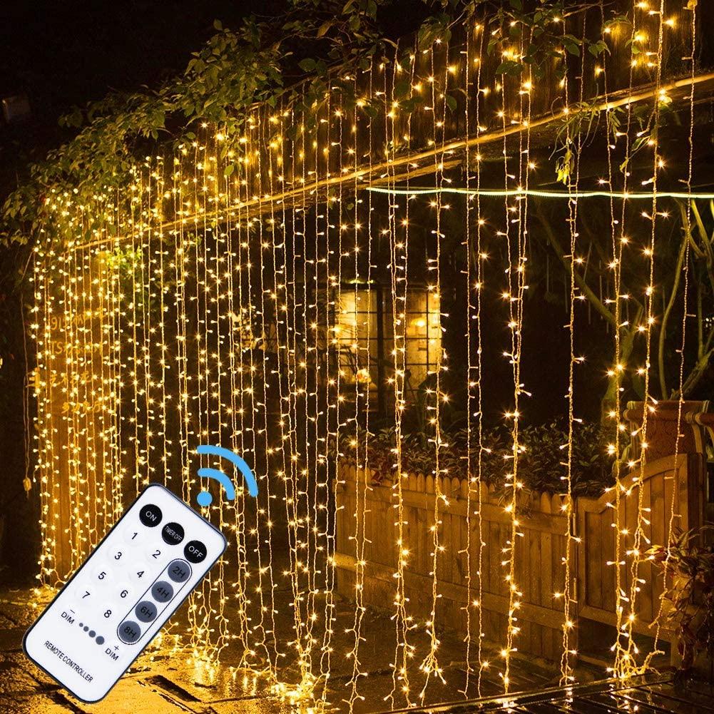MAGGIFT String Lights with 304 LED Lights