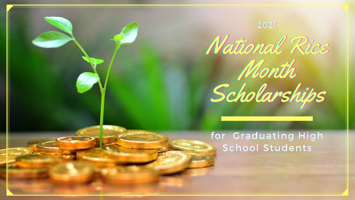 National Rice Month Scholarships for Graduating High School Students