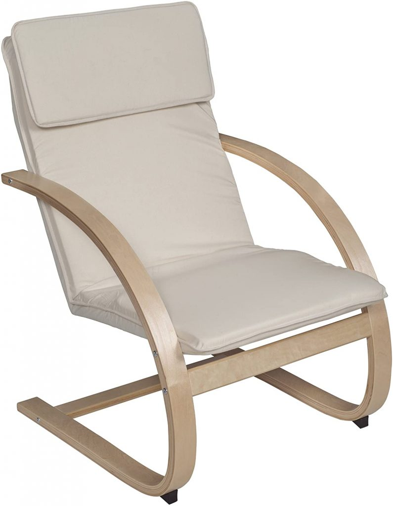 Niche Mia Bentwood Reclining Lounge Chair