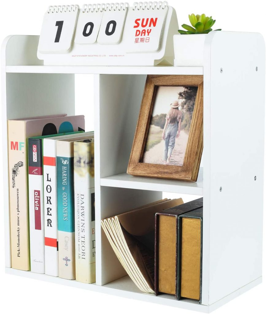 PAG Dorm Room Bookshelf with Wooden Material
