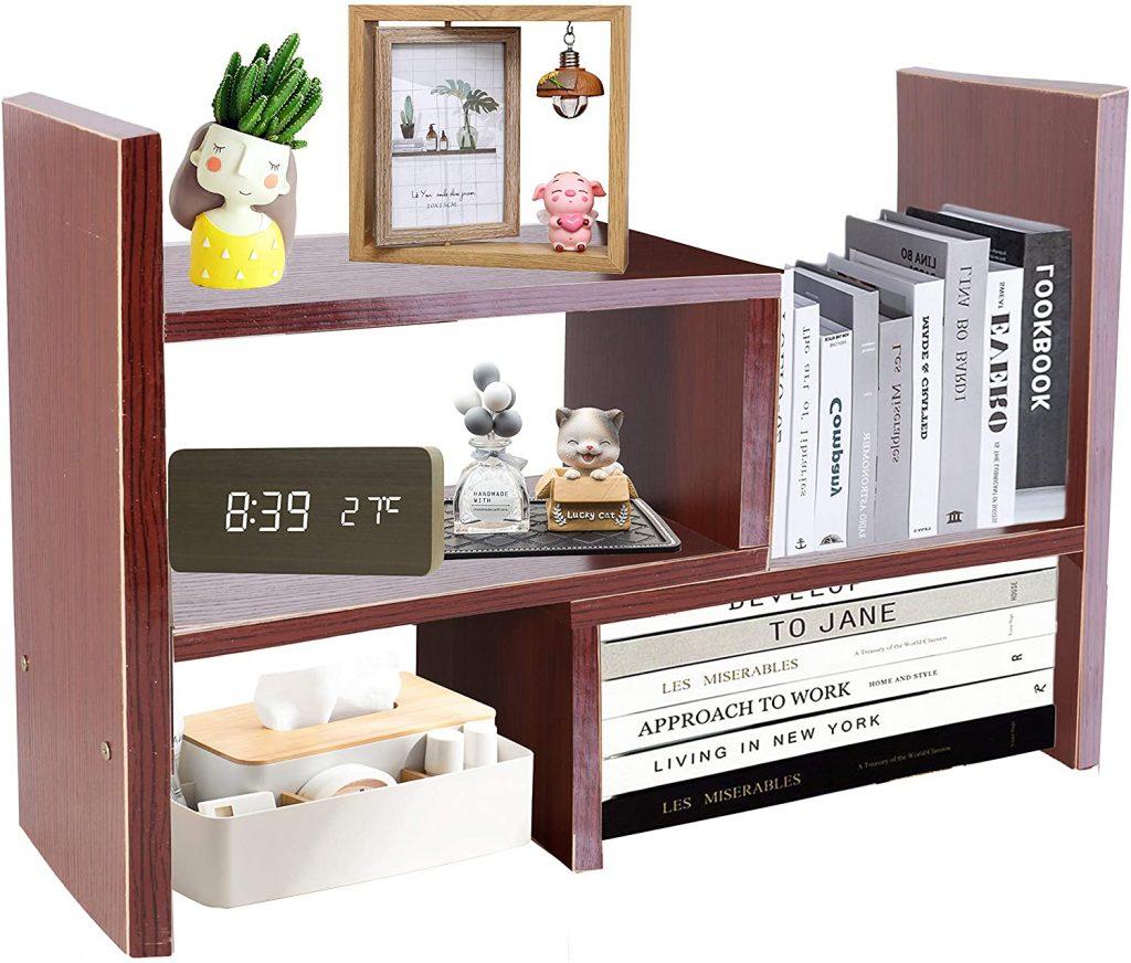 PENGKE Office Storage Rack Desktop Organizer