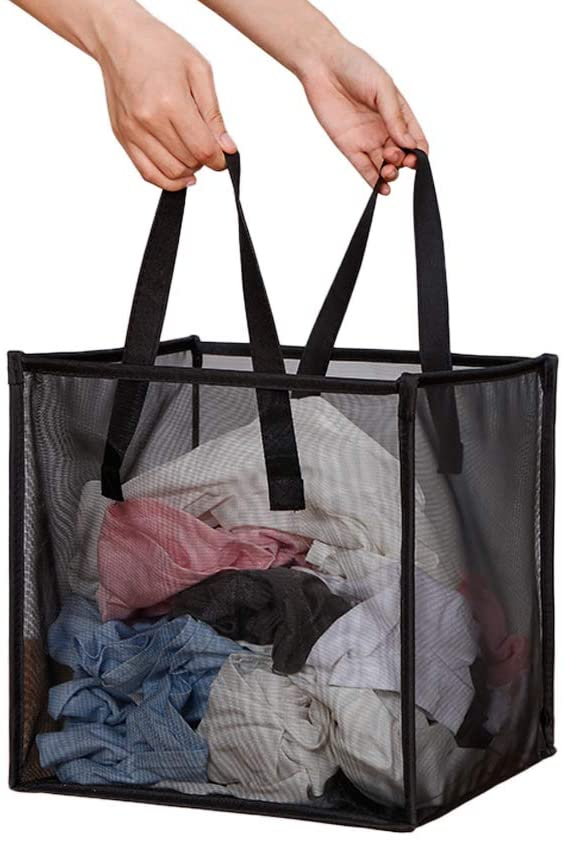 Portable &Collapsible Laundry Hamper Bag with Handles