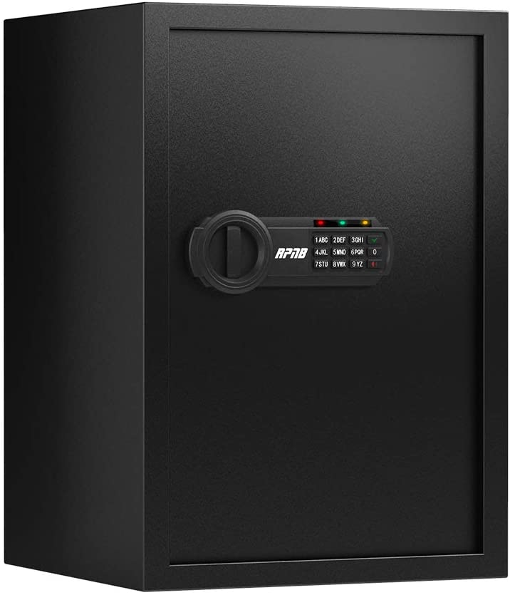 RPNB Deluxe Safe and Lock Box with Digital Keypad