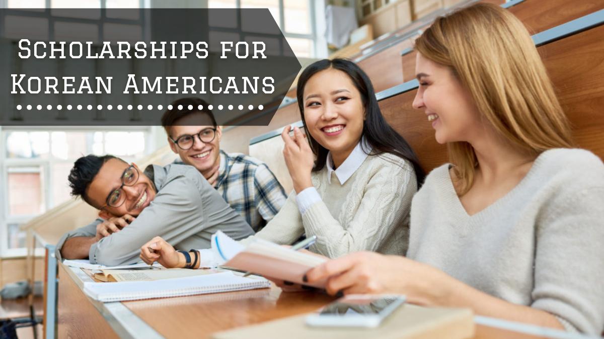 Scholarships for Korean Americans