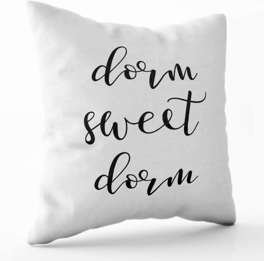 Shorping Zippered Pillow for Dorm