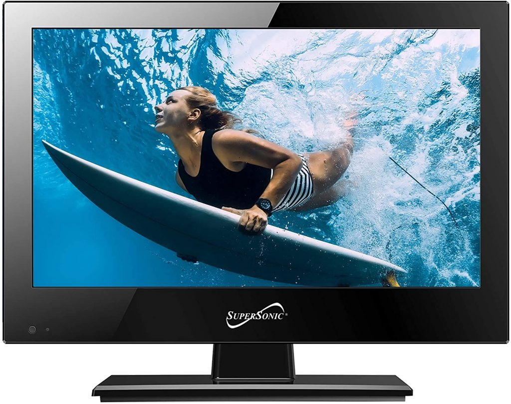Supersonic SC-1311 13.3-Inch 1080p LED Widescreen HDTV with HDMI Input
