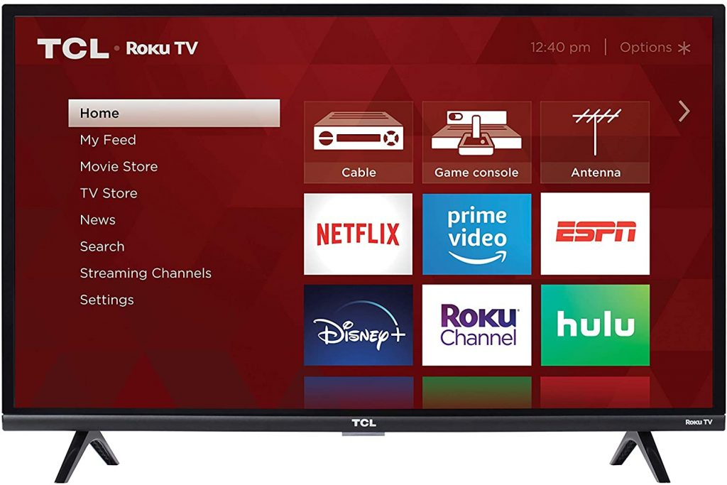 TCL Dorm Television with 32-inch Smart LED