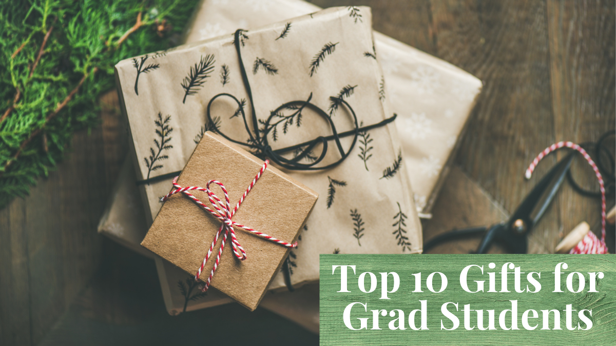Top 10 Gifts for Grad Students