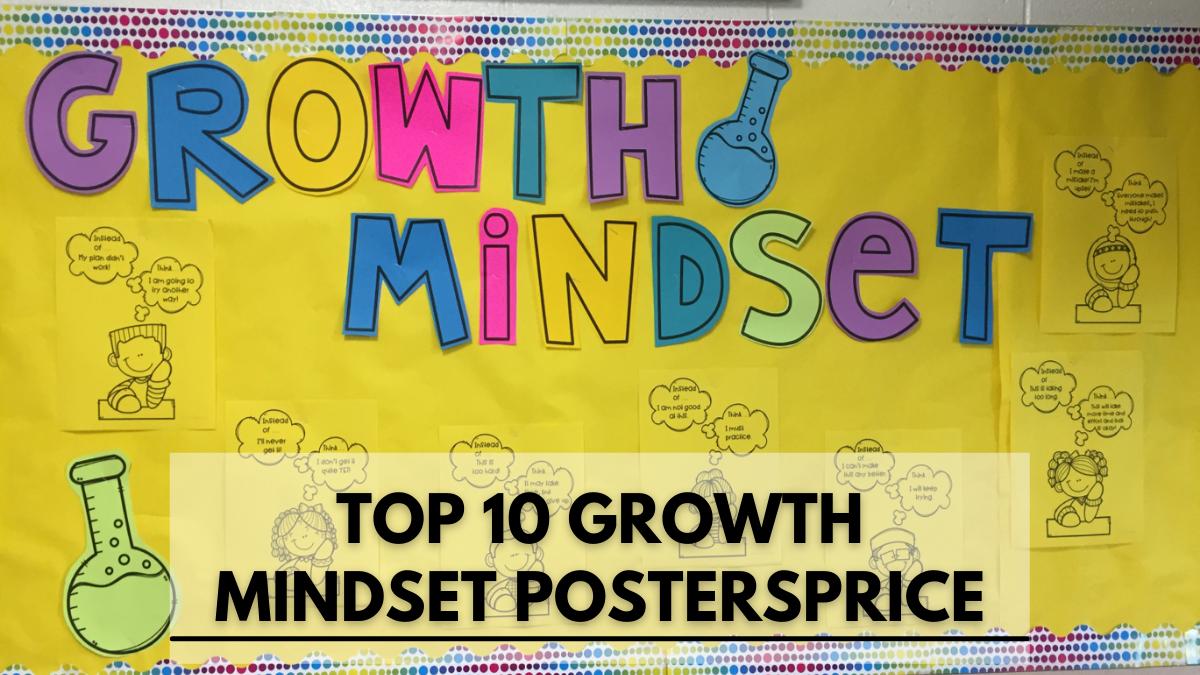 Top 10 Growth Mindset PostersPrice