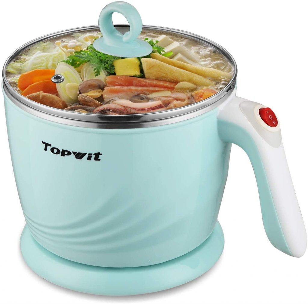 Topwit Electric Cooker with Over-Heating & Boil Dry Protection