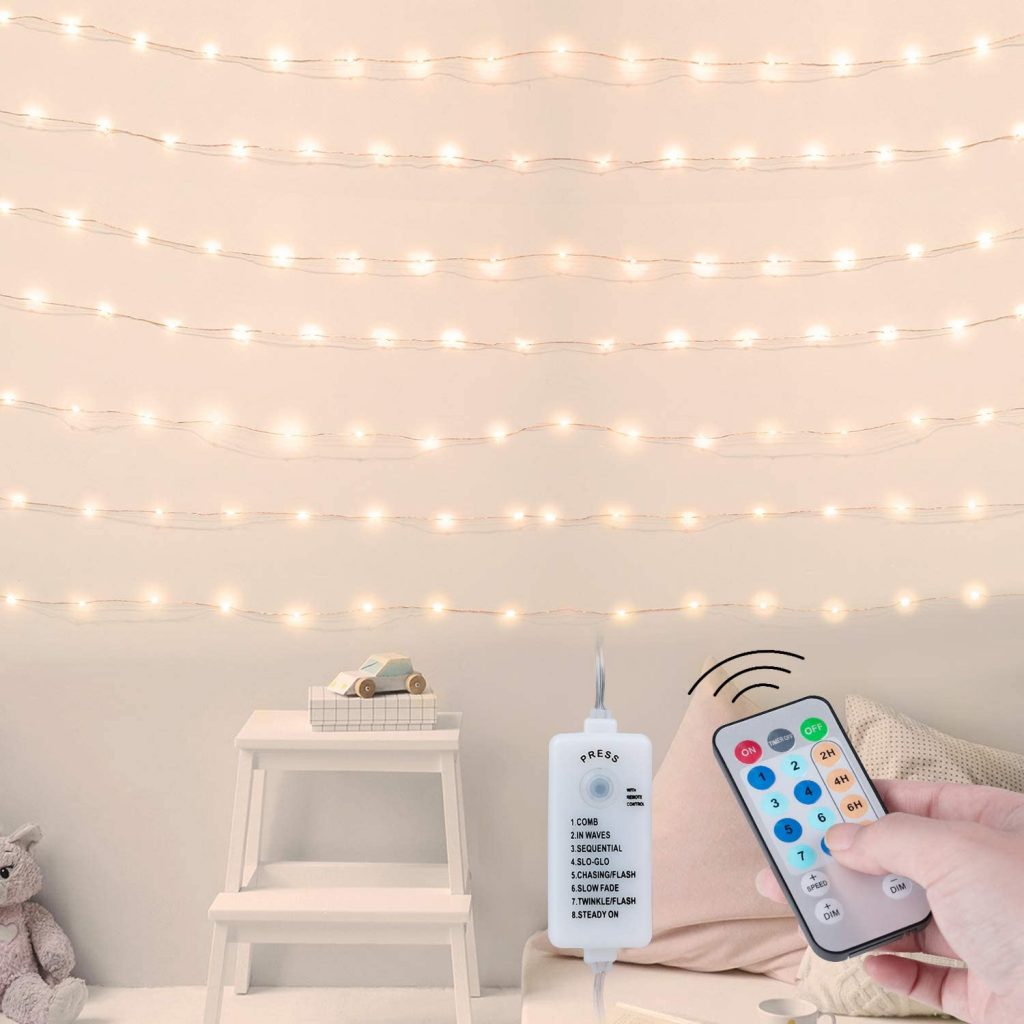 USB Fitted Dorm Fairy String Lights with 66feet Measure