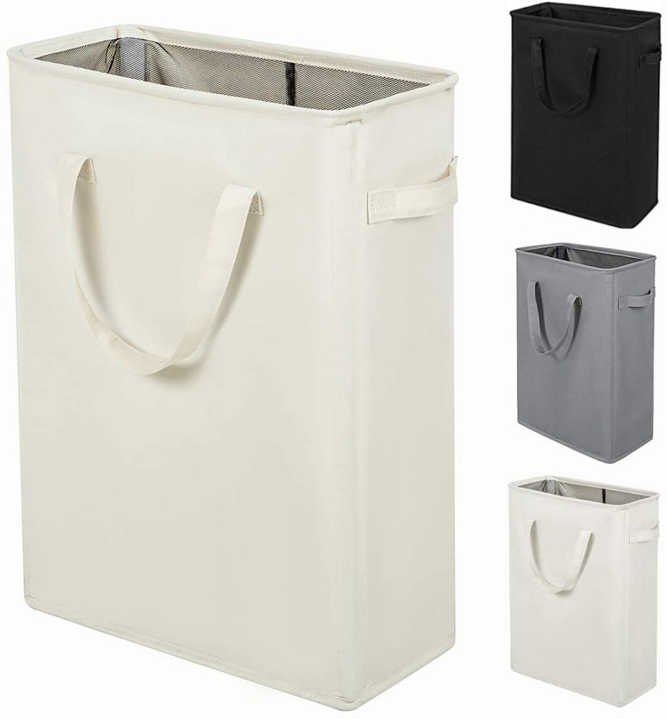 ZERO JET LAG Slim Laundry Hamper with Handles