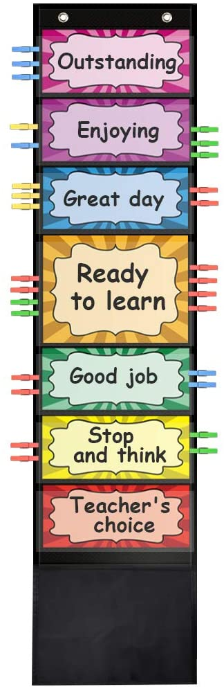 ZKOO Behavior Clip Chart for Classroom Management