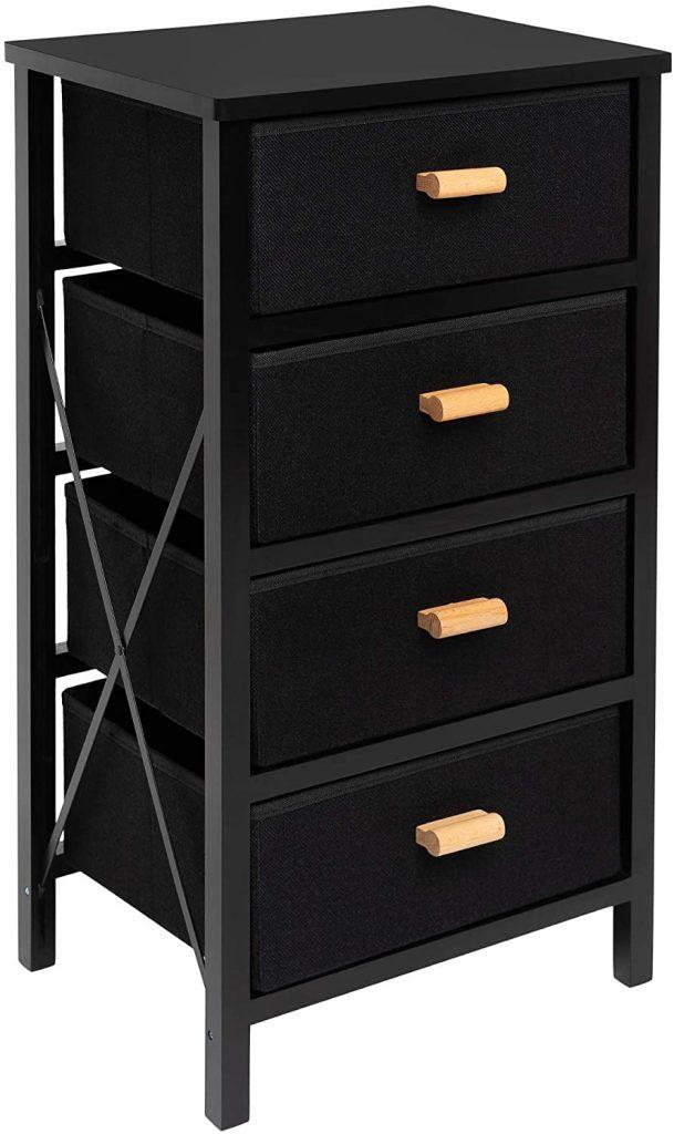 Zenacasa Dorm Dresser with Foldable Storages