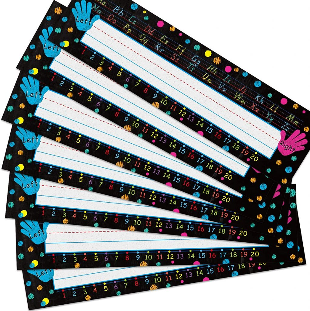 48 Pieces Bright Name Plates with 160 Pieces