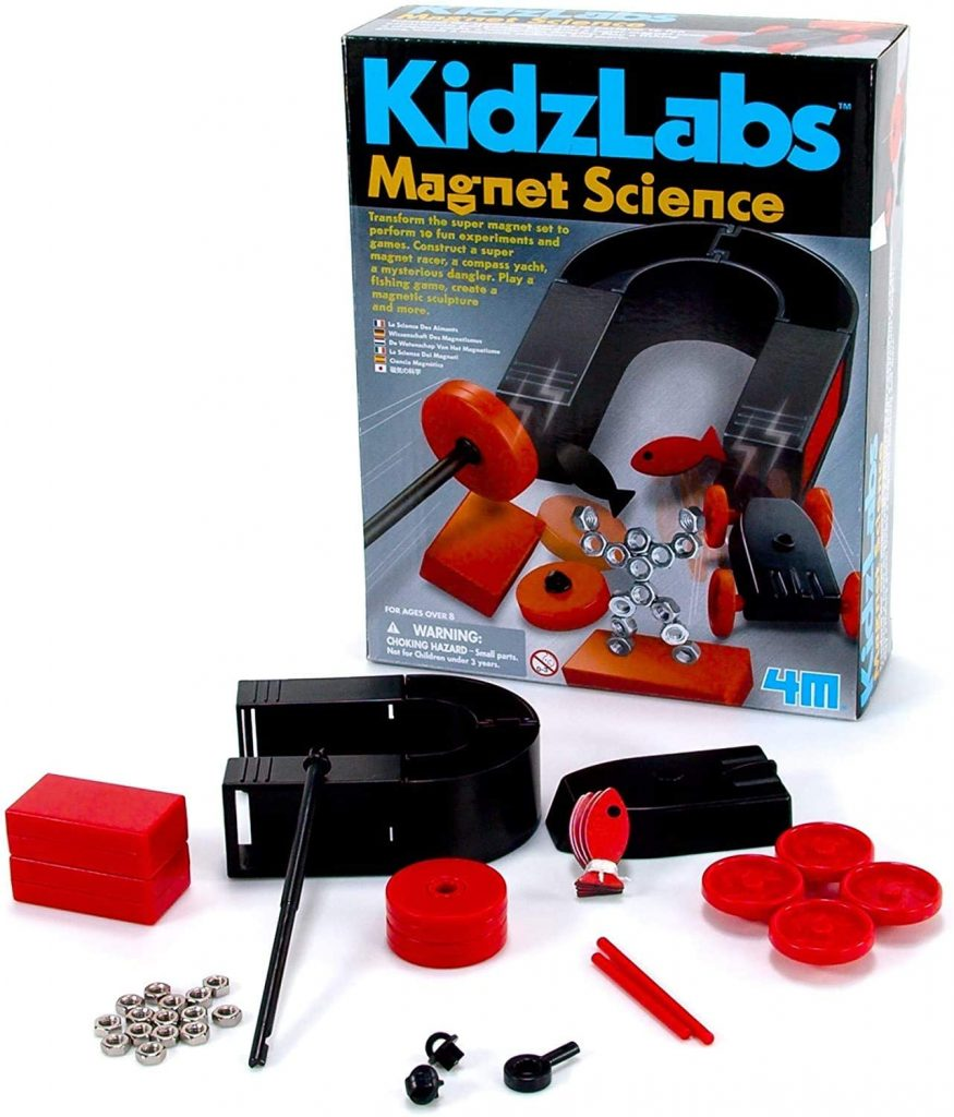 4M Magnet Science Kit - 10 Magnetic Experiments & Games