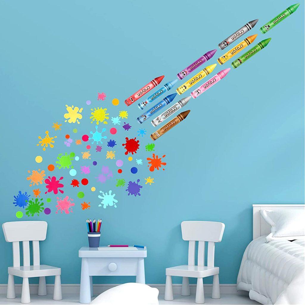 69 PCS Classroom Wall Decals for Classroom Decorations