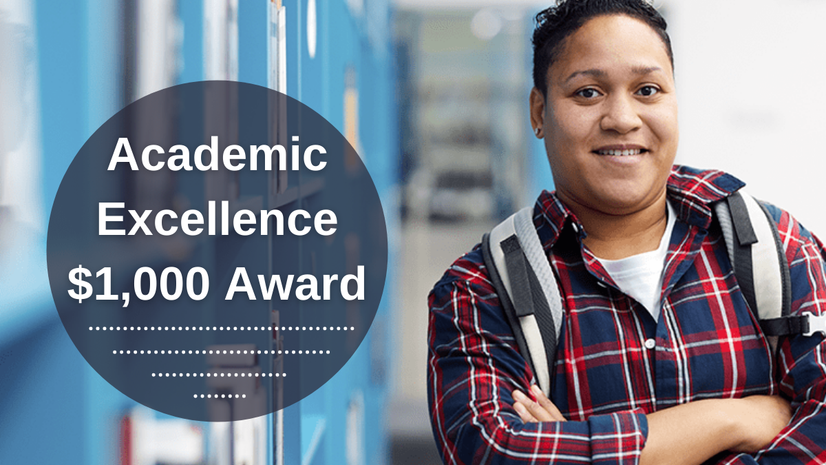 Academic Excellence $1,000 Award
