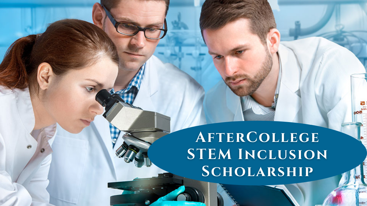 AfterCollege STEM Inclusion Scholarship