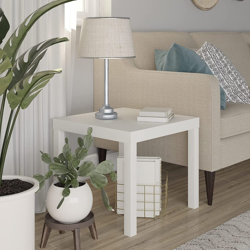 Ameriwood Dorm Table with White Shade