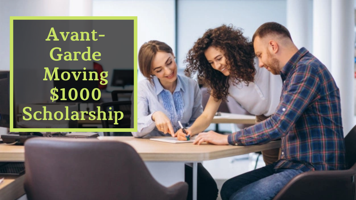 Avant-Garde Moving $1000 Scholarship