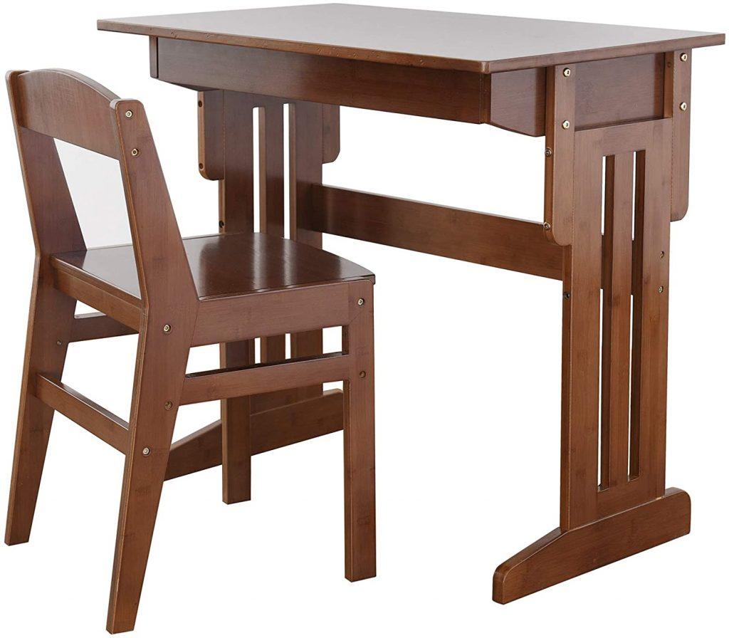 BALANBO Kids Desk and Chair Set with Drawer