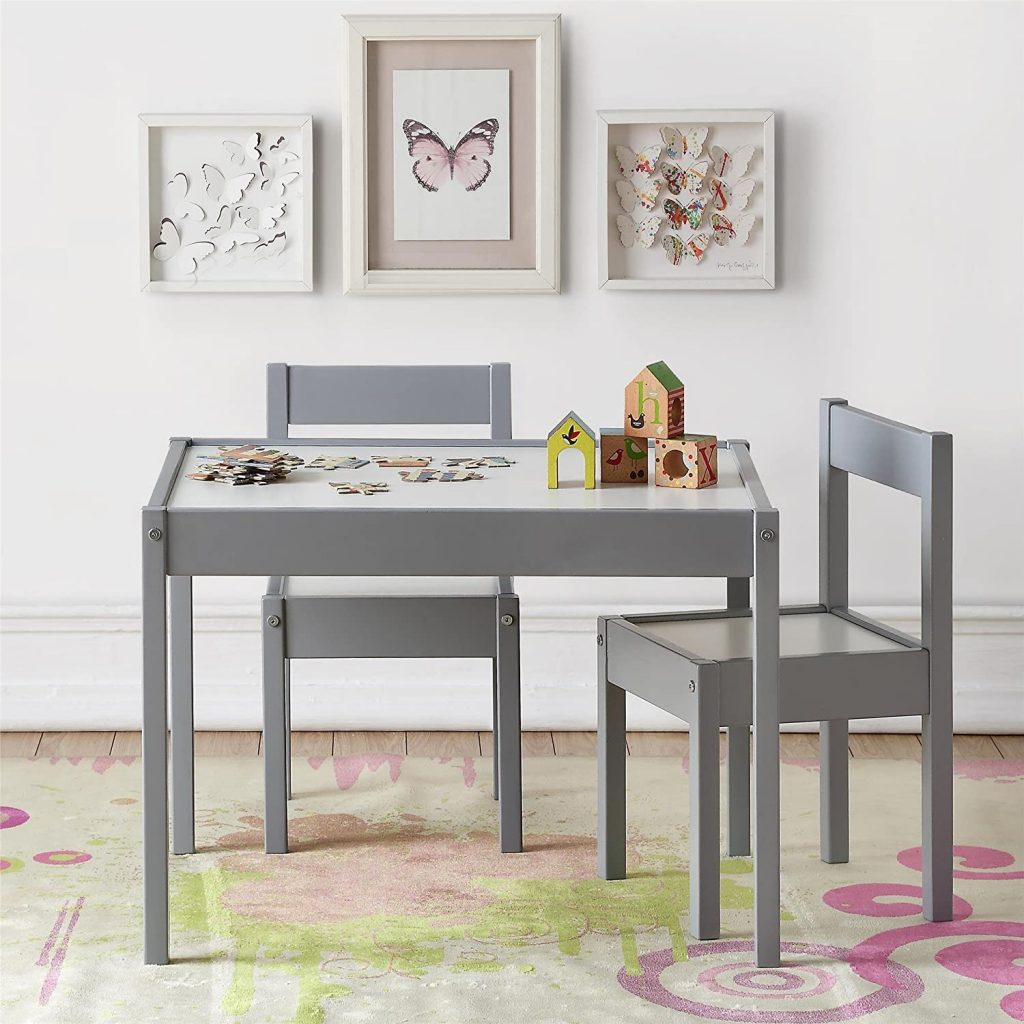 Baby Relax DA7501G Hunter 3 Piece Kiddy Table and Chair Set