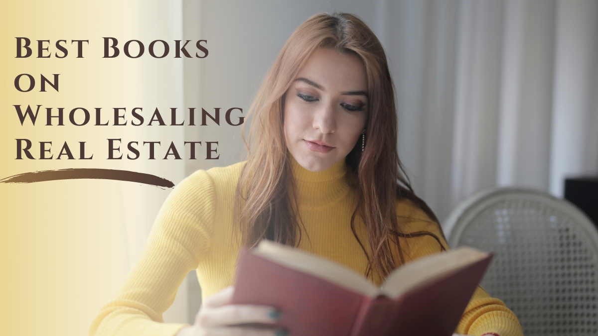 Best Books on Wholesaling Real Estate