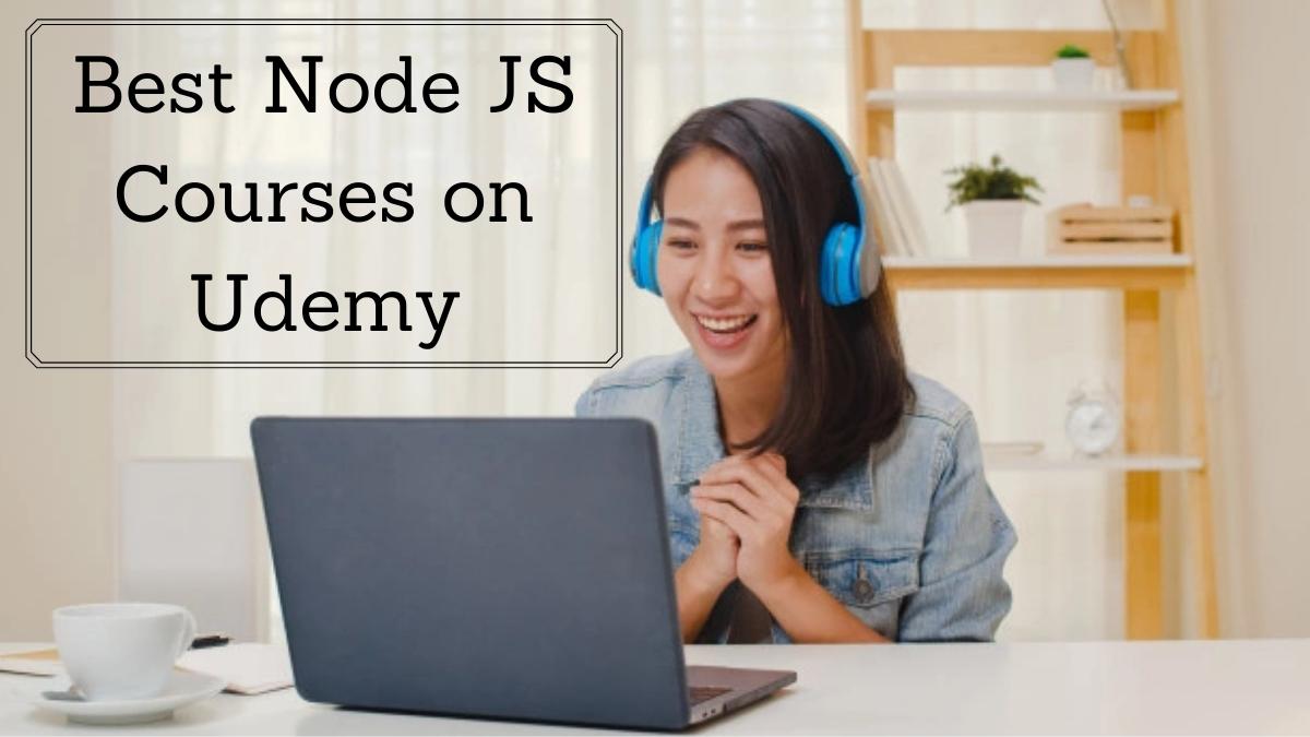Best Node JS Courses on Udemy