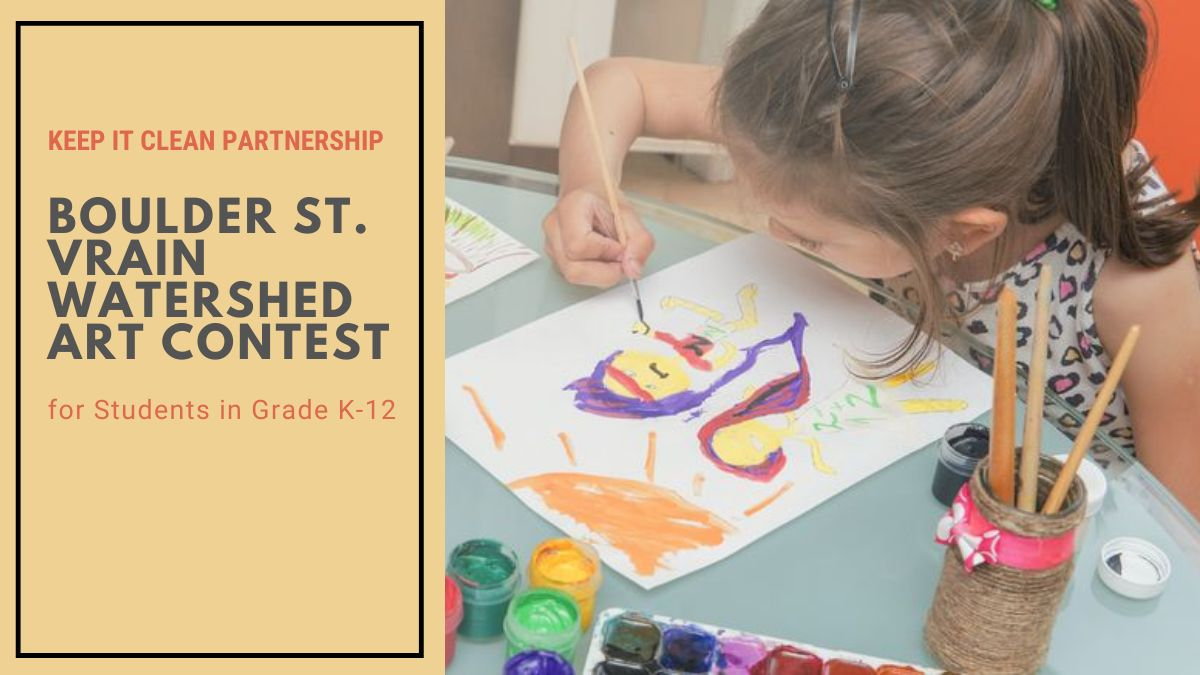 Boulder St. Vrain Watershed Art Contest for Students in Grade K-12