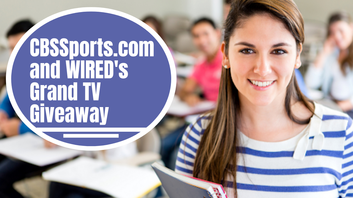 CBSSports.com and WIRED's Grand TV Giveaway