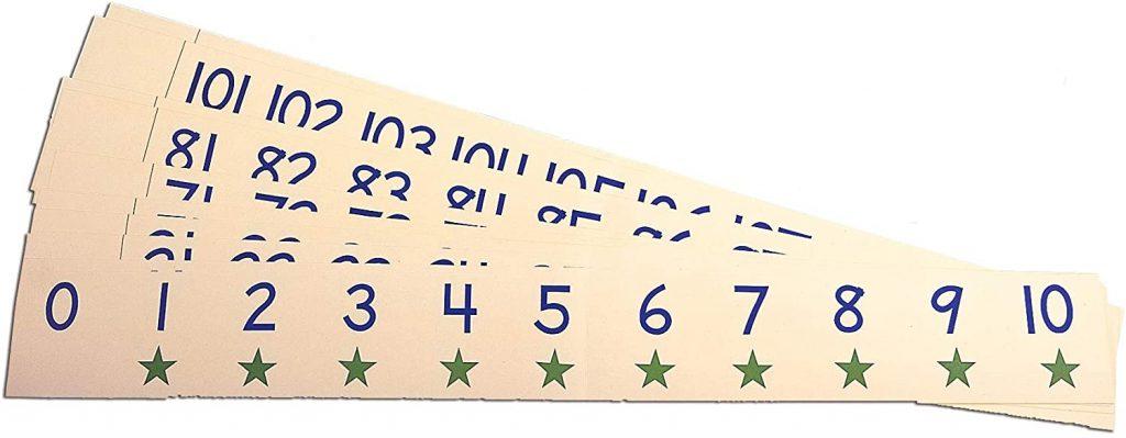 Carson Dellosa Number Line