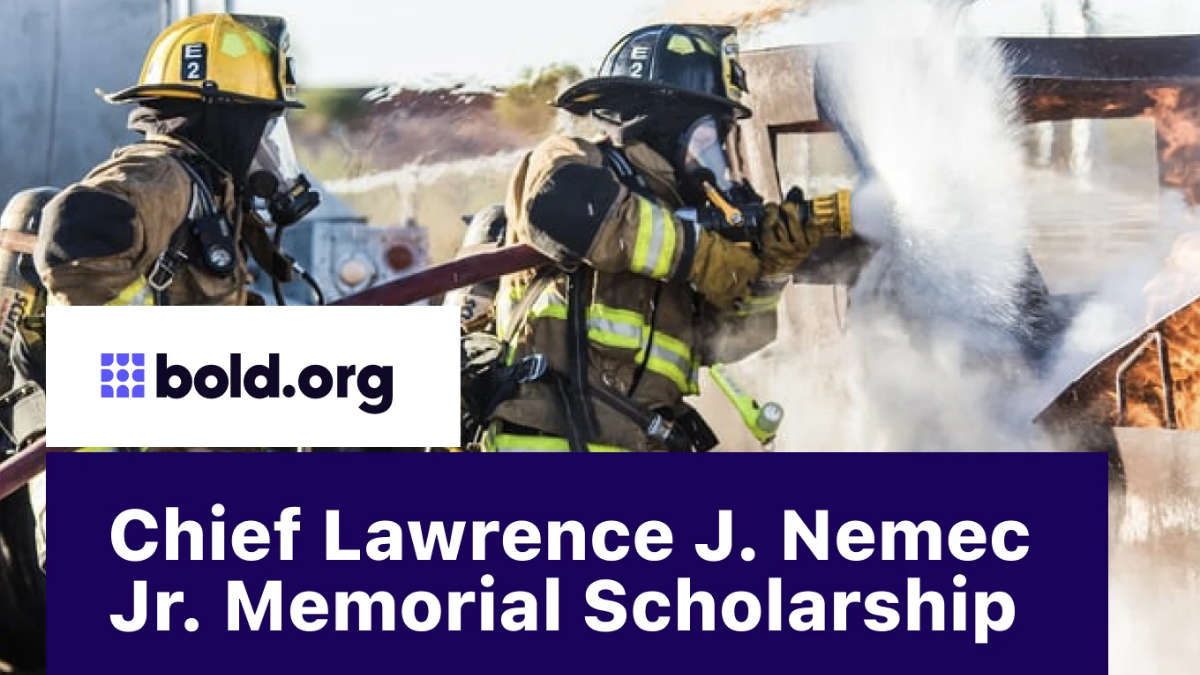 Chief Lawrence J. Nemec Jr. Memorial Scholarships