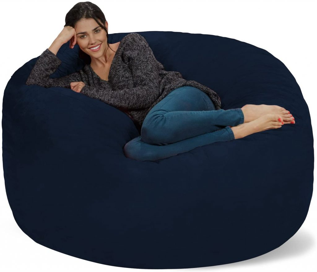 Chill Sack Bean Bag with Soft Micro Fiber Cover