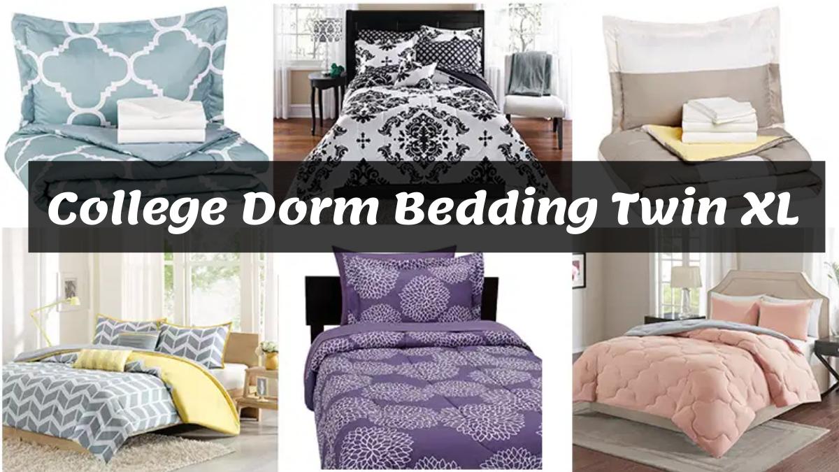 College Dorm Bedding Twin XL