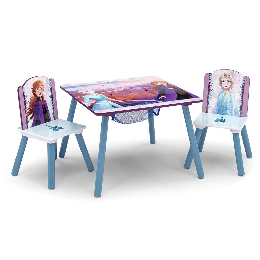 Delta Children Kids Table and Chair Set With Storage
