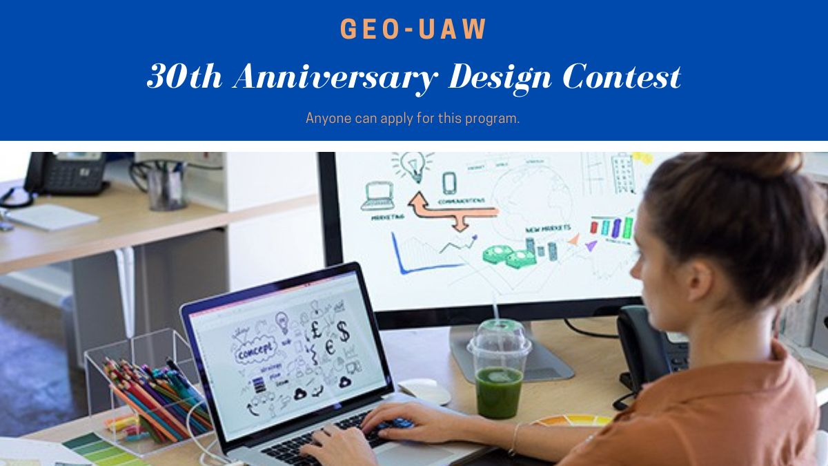 GEO-UAW 30th Anniversary Design Contest