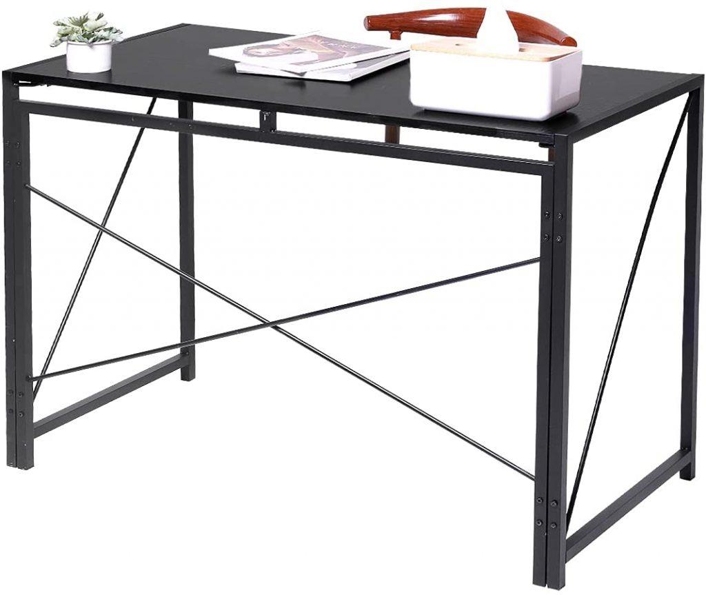 Hanekuc Folding Portable Table with Black Shade