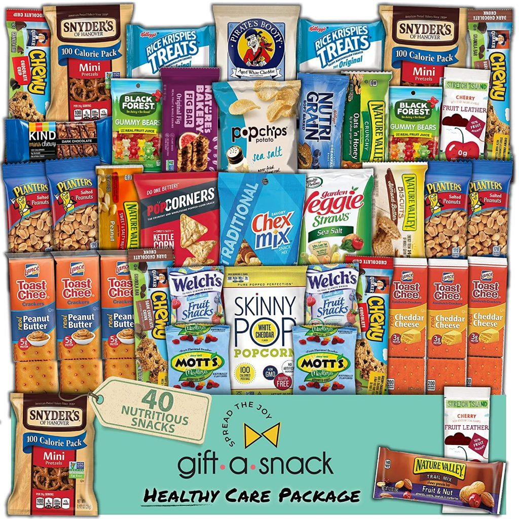 Healthy Snack Box Variety Care Package by Nut Cravings