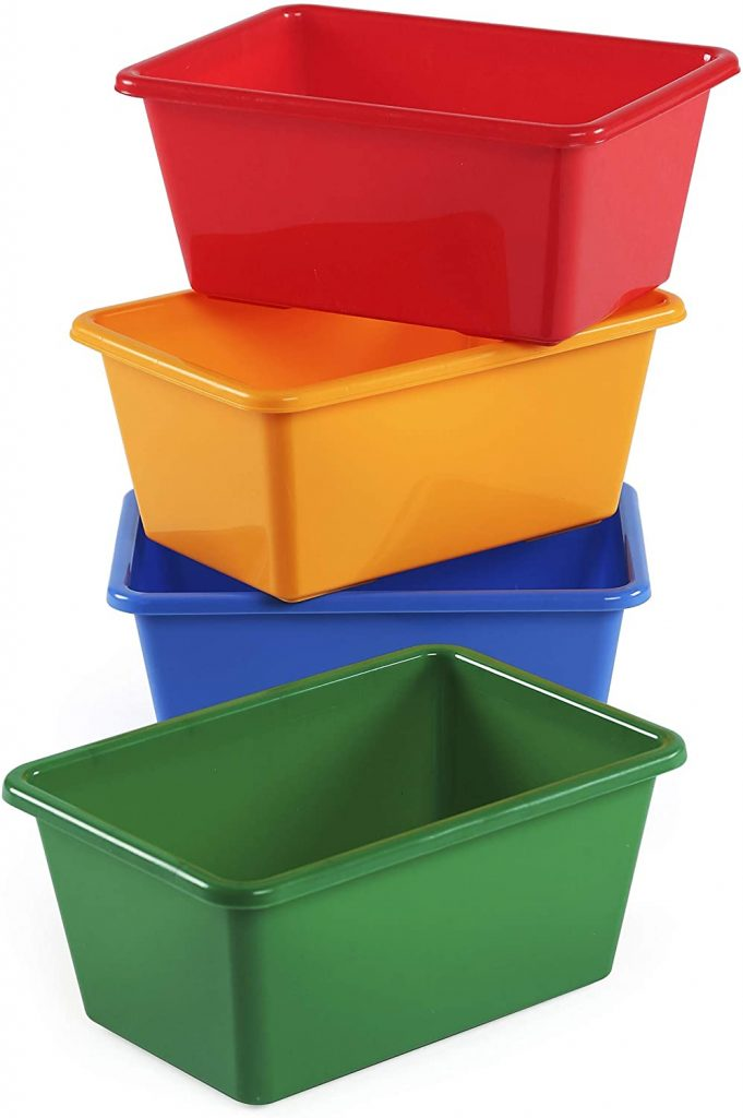 Humble Crew Small Storage Bins with Set of 4