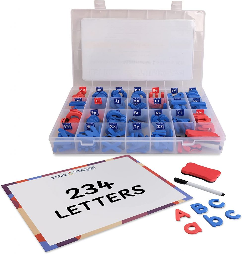 Inspired Thinkers Magnetic Letters with Foam Uppercase & Lowercase