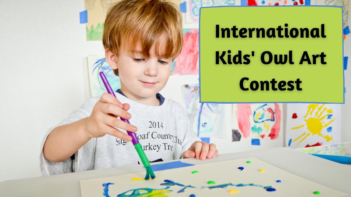 International Kids' Owl Art Contest (1)