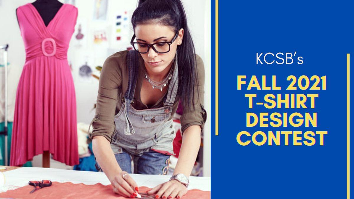 KCSB's Fall 2021 T-Shirt Design Contest