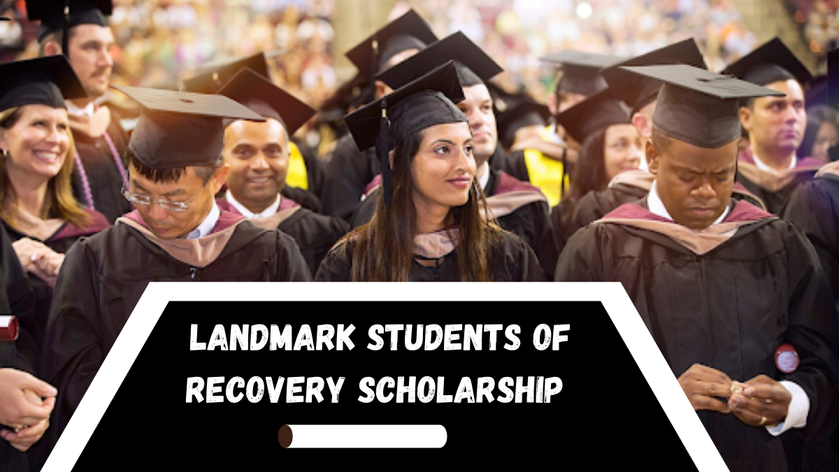 Landmark Students of Recovery Scholarship