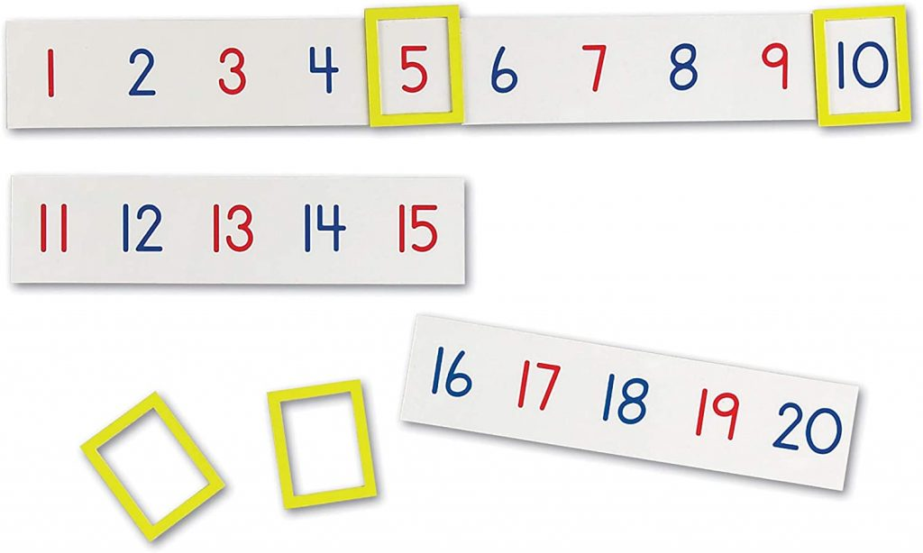 Learning Resources Magnetic Number Line 1-100
