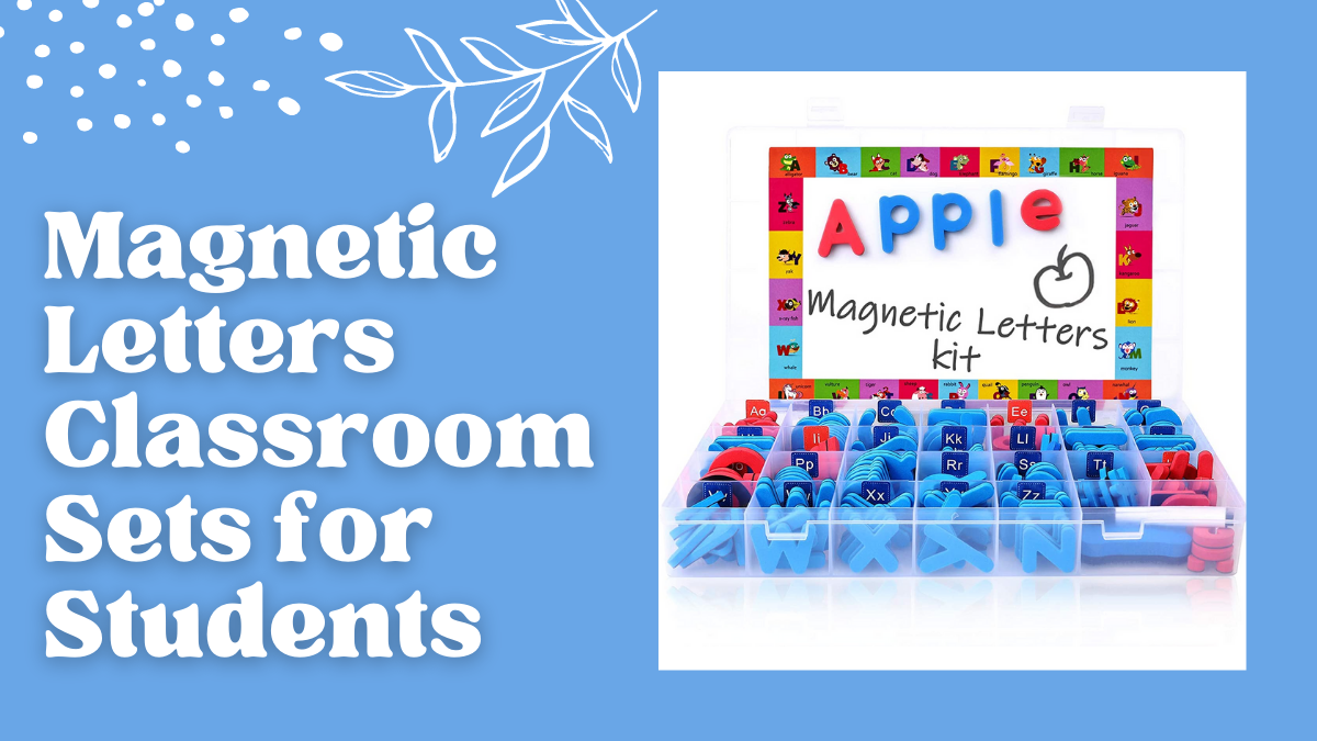 Magnetic Letters Classroom Sets for Students