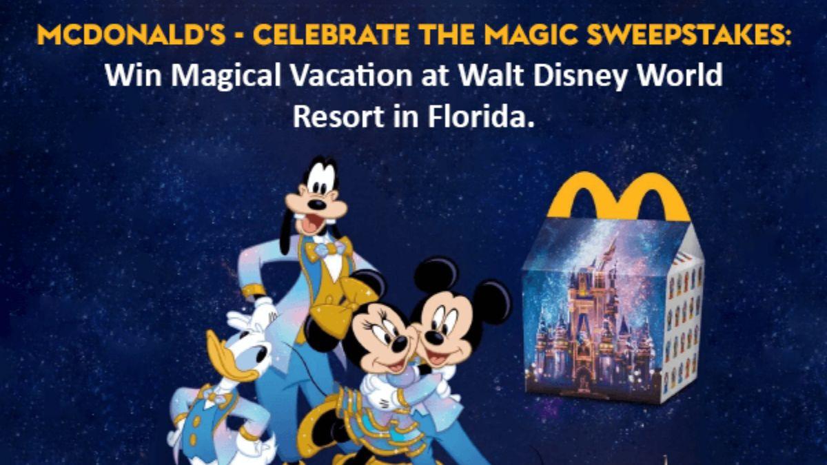 McDonald's Celebrate the Magic Sweepstakes